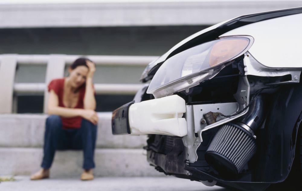 szkoda w samochodzie powstała po wypadku